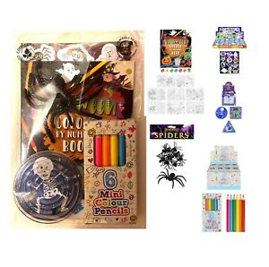 Halloween Party Bag Pre Filled Ready Made 5 Toy Fillers Boys Girls Unisex