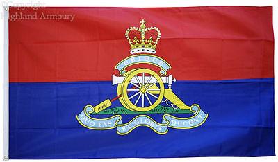 5' x 3' FLAG Royal Artillery Regiment Gunners RA British Army Military Flags ft
