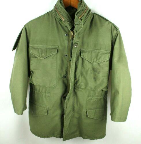 Vintage OG-107 Military Field Jacket Size XS Short