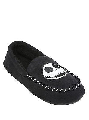Nightmare Before Christmas Jack Skellington Mens Disney Slippers M 9//10 NWT