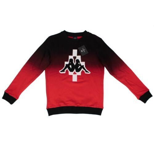 rosso Logo Nuova Nero Grande Kappa Etichetta Marcelo Con ' Burlon rznrxPU