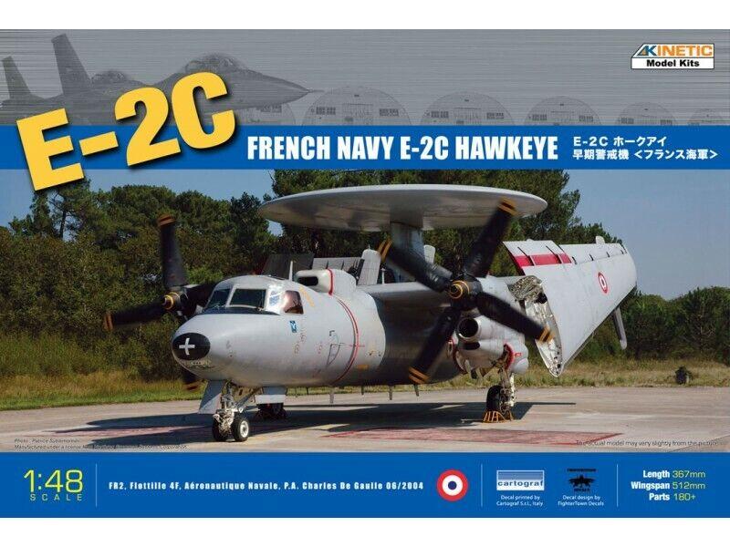 basso prezzo del 40% KINETIC 1 48 FRENCH NAVY E-2C HAWchiaveE modelloLO IN KIT KIT KIT DI MONTAGGIO  ultimi stili