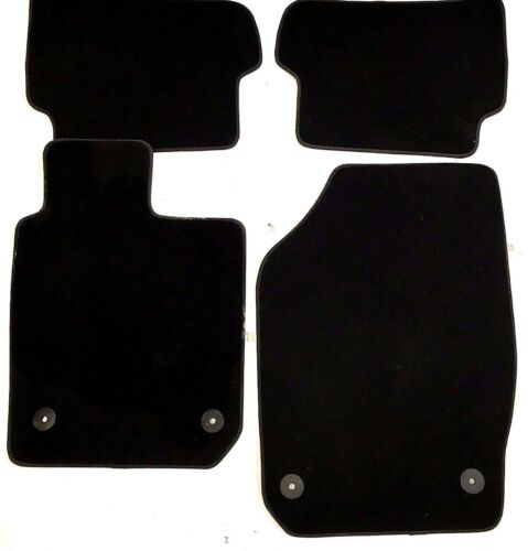 Seat Ibiza 2012-2017 Black Carpet Mats Mat Set New /& Genuine Set of 4