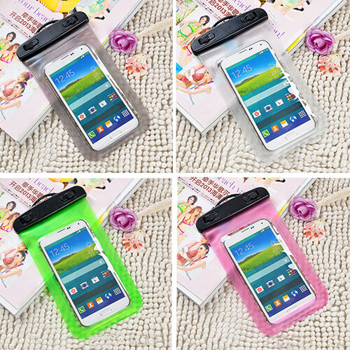 Waterproof Cell Phone Pouch Underwater Dry Bag Case Cover For Samsung Galaxy