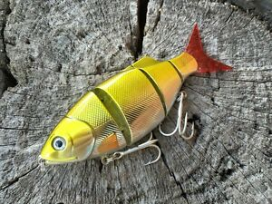 Jointed-Baitfish-110mm-Swimbait-Barra-Jack-Cod-Fishing-lure-lures-Free-Post