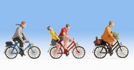 Figurines Noch N (36898): Bicycle Riders