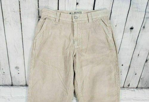 NEW AMERICAN EAGLE OUTFITTERS Tan Corduroy Flap Pockets Pants WOMENS SIZE 4