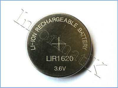 LIR1220 Pila Batteria Tampone Bottone Ricaricabile sostituisce ML1220 DL1220