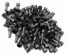 100 PCS PACK PC 16-14 AWG Gauge Black Closed End Crimp Cap CAPS Wire UL Approved