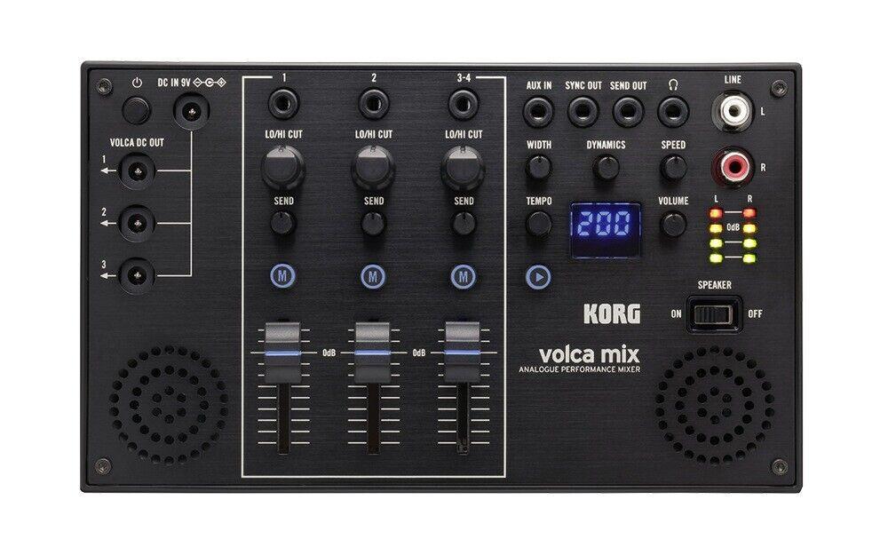 Mezclador Mezclador Mezclador de rendimiento KORG VOLCA Mix Análogo bec20e
