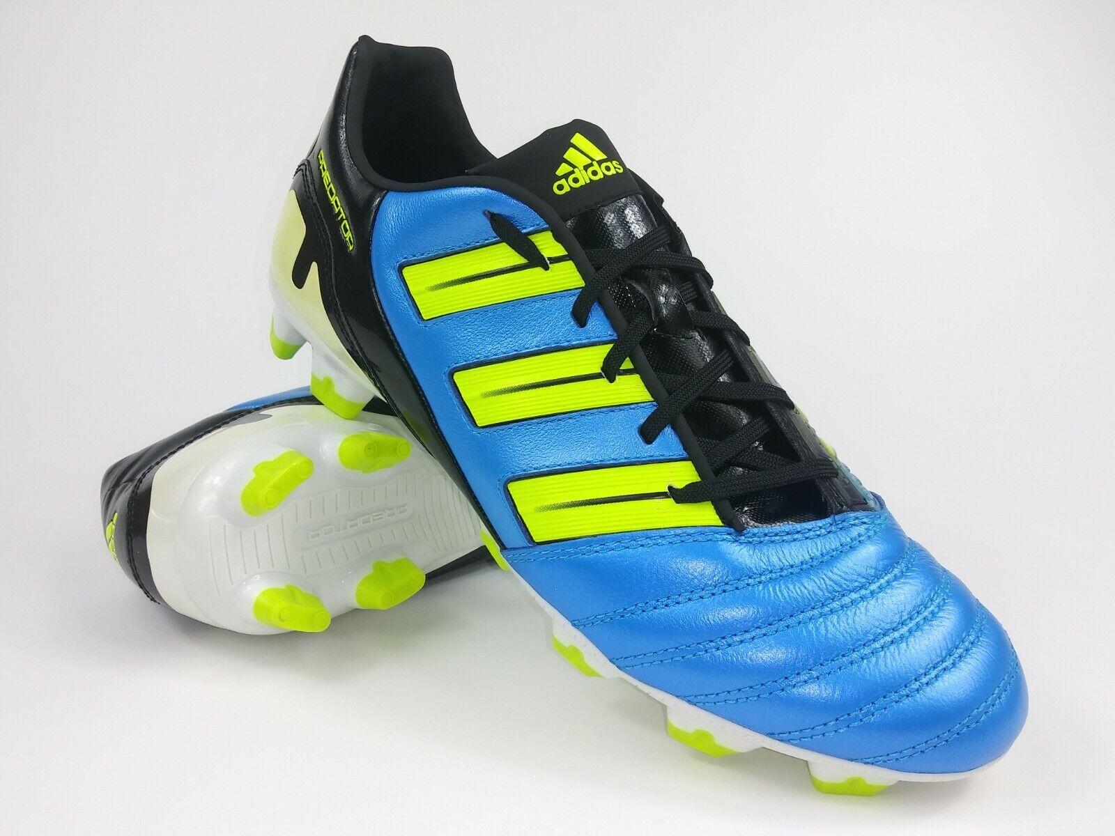 Adidas Para Hombre Raro P Absolion Trx Fg G40903 Azul Amarillo botas Botines de fútbol