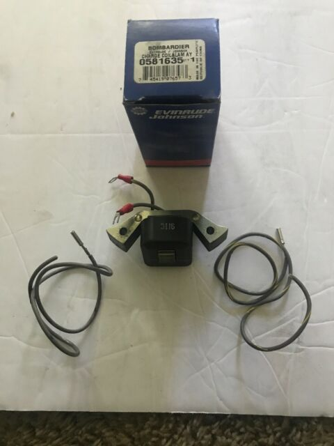OMC Johnson EVINRUDE OUTBOARD Charging Coil 0581635 581635