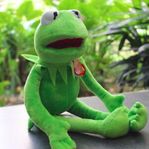 Kermit-Sesame-Street-Kermit-the-Frog-Toy-plush-18-034-Stuffed-Xmas-Kds-Gift