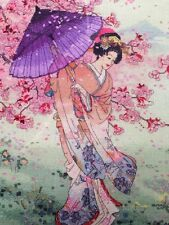 Maia  Collection YUMEZAKURA  Counted Cross Stitch Kit  5678000-01145 New