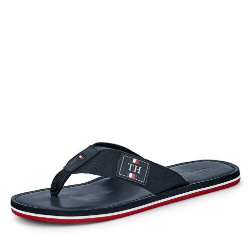 Tommy Hilfiger Herren Sandale Pantolette Zehentrenner Sommerschuh Schuhe modisch