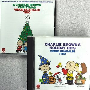 Vince Guaraldi Christmas.Details About Charlie Brown Christmas Vince Guaraldi Trio 2 Cd Lot Holiday Hits Fantasy Jazz