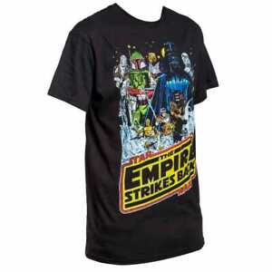 Star-Wars-The-Empire-Strikes-Back-Movie-Poster-Tee-Shirt-LG-Vintage-Classic-New