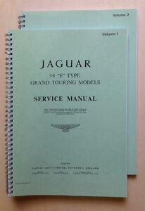 Jaguar Type E 3,8 L - Manuel d'atelier Volume 1&2 - France - État : Neuf: Objet neuf et intact, n'ayant jamais servi, non ouvert. Consulter l'annonce du vendeur pour avoir plus de détails. ... - France