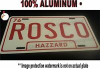 Rosco - Dukes Of Hazzard License Plate, General Lee, 69 Charger / Aluminum,