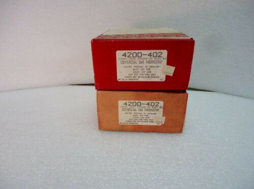 Robertshaw 4200-402 FDTS Z75009-30 Commercial Gas Thermostat Uni-Line NOS