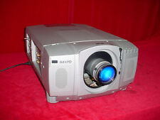 Sanyo Pro UX Multimedia Home Theater Projector PLC-EF10NA 3,000 Lumens!
