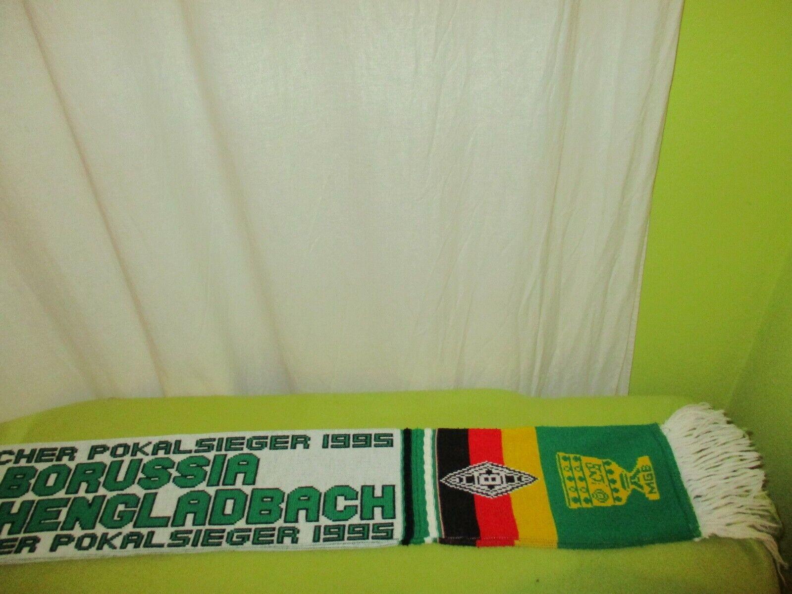 Borussia Mönchengladbach Original Fan Fan Fan Schal  DEUTSCHER POKALSIEGER 1995  TOP 8477ea
