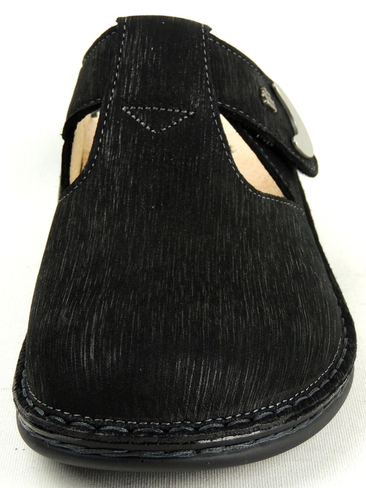 FINN COMFORT  Damen Pantolette Clogs  schwarz 2555