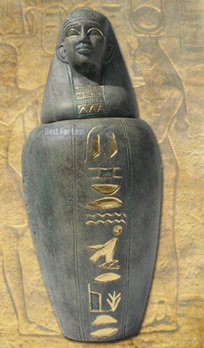 Anubis Kelch Ägypten Relief mit Edelstahl Becher sehr dekorativ,Neu