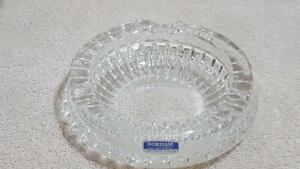 Gorham Crystal Full Lead Cut Glass Ashtray Made In Germany Collectible