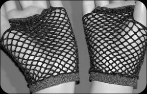 Noir/argent Glitter Court Mitaines Gants Résille/glovettes Taille Unique Gothique Bn-es One Size Goth Bnafficher Le Titre D'origine