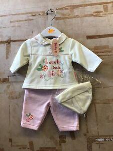 months Baby Girls 3 Piece Set Exquisite Craftsmanship; 3-5 Pounds Age 0-3