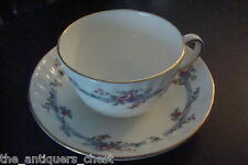 Minton cup and saucer, Chartwell pattern, made in England[a*5-b2]