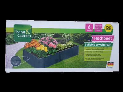 Living Garden Multifunktions Hochbeet Fruhbeet Blumenbeet 6 Teile Im Karton Ebay