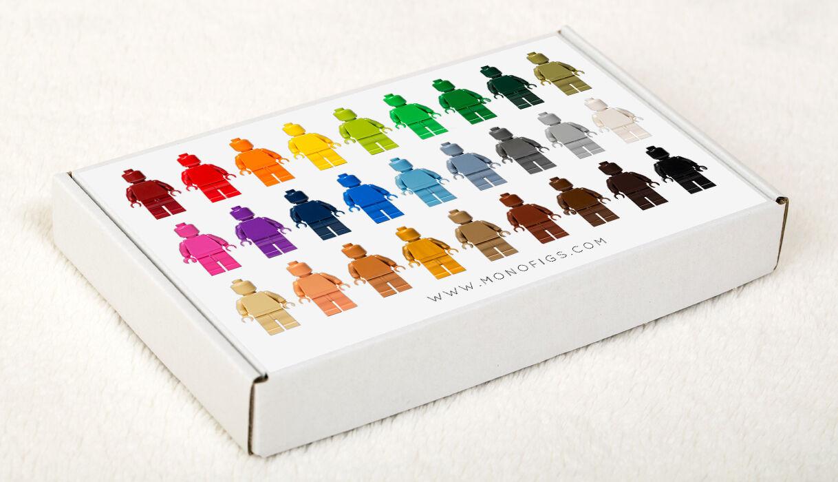 LEGO  SET OF 36 36 36 MONOCHROME MINIFIGURES (MONOFIGS) 4410c5