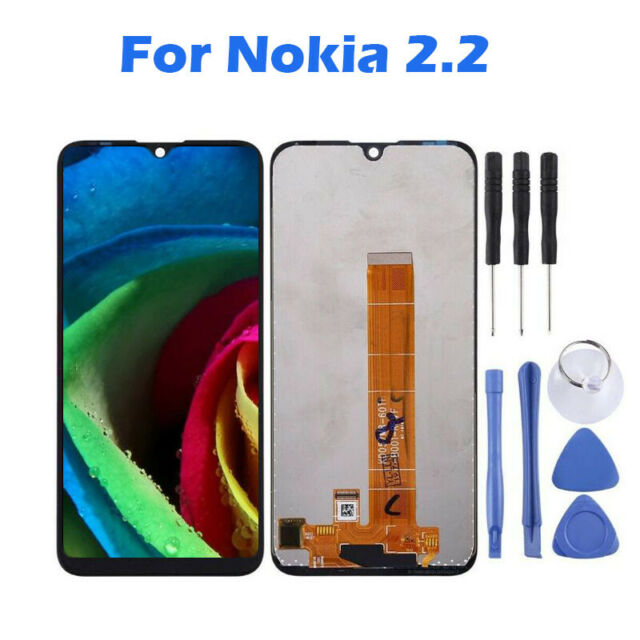 For Nokia 2.2 LCD Display Touch Screen Digitizer Assembly Replacement Black
