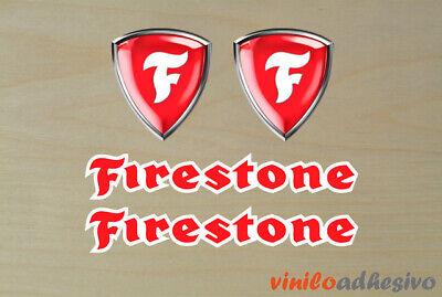 Bellissimo Pegatina Sticker Vinilo Firestone Ref2 Sponsor Autocollant Aufkleber Adesivi Con Metodi Tradizionali