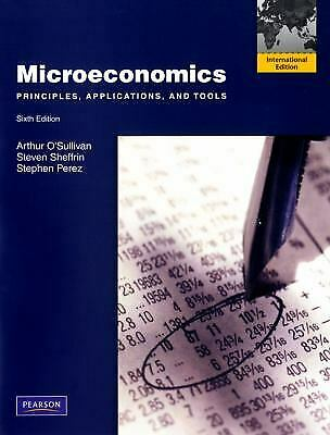 Microeconomics : Principles, Applications, and Tools: International Ed-ExLibrary