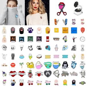 Cute-Cartoon-Creative-Enamel-Lapel-Collar-Pin-Brooch-Badges-Fashion-Jewelry-Gift