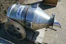 Tiefenthaler Pneu Con Stainless Steel Dust Collector Funnel Loader60l X 28 Dia