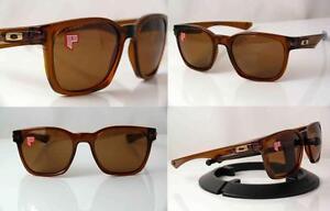 a49d9d903c9 Image is loading Polarized-Oakley-Sunglasses-Garage-Rock-Dark-Amber-009175-