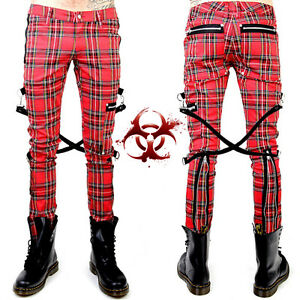 أكيد وعاء الكراك محبوب Pantalones Punk Hombre Kevinstead Com