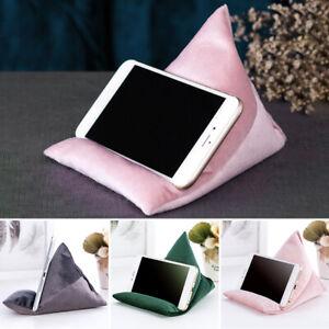 Stand-Pillow-Bean-Bag-Fabrics-Portable-Cushion-Bubble-Beads-Mobile-Phone-Holder