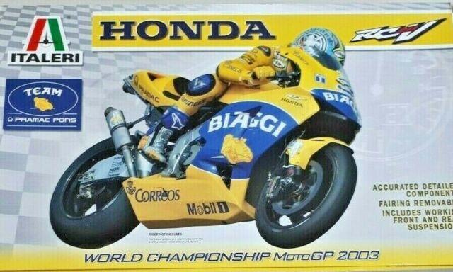 Italeri Honda Rcv 211 Motorcycle Plastic Model Kit For Sale Online Ebay