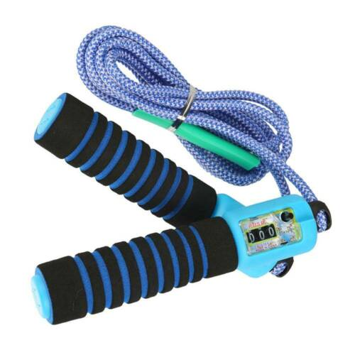 Skipping Rope Skip Counter  Jump Boxing Jumping Gym Fitness Kids Adult New