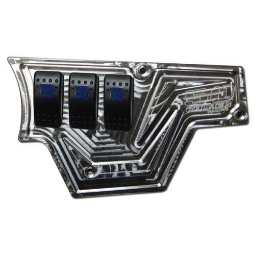 Polaris RZR XP1000 Billet Aluminum Dash Panel 1000XP Whip Light Rocker Switches