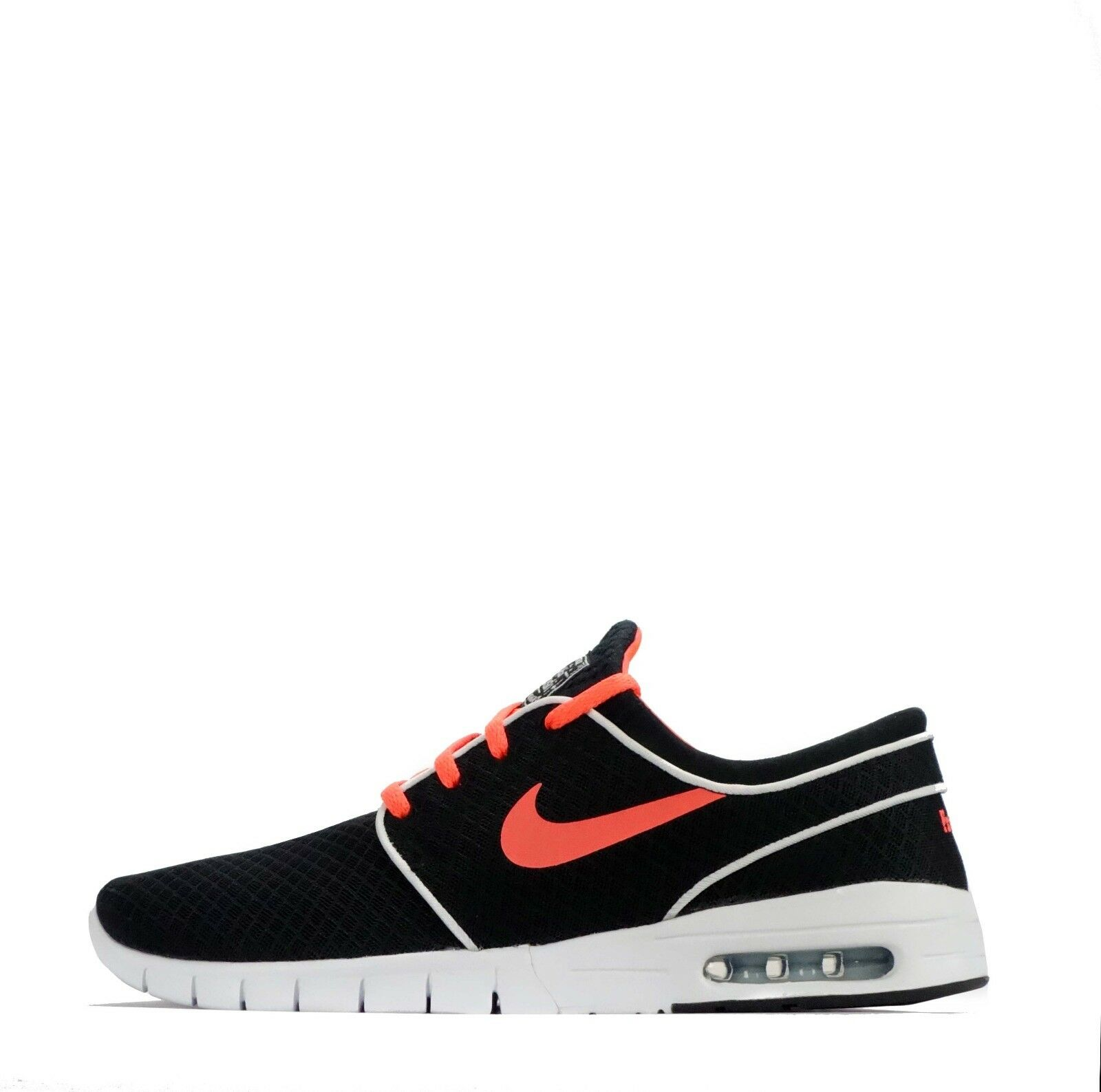 Nike ID Stefan Janoski Max hommes SkateboardingChaussures noir /Orange
