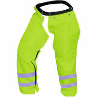 Forester String Trimmer Safety Chaps (safety Green)