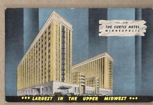 The-Curtis-Hotel-Minneapolis-Minnesota-Linen-Postcard