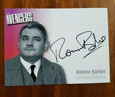 The Avengers Ronnie Barker Signed Trading Card