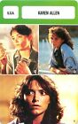 Karen Allen USA ACTRESS ACTRICE FICHE CINEMA